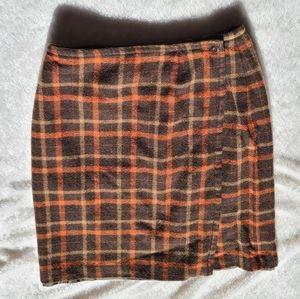 Style & Co plaid skirt plaid skirt, size 8